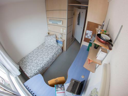 Logement individuel  CITE UNIVERSITAIRE PAUL APPELL (8 rue de Palerme 67000 STRASBOURG)