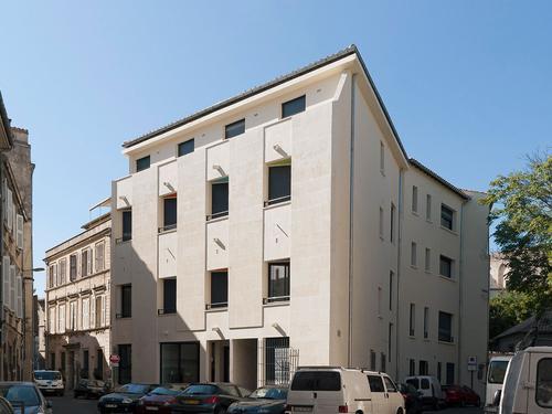 Logement individuel RESIDENCE ROCHER DES DOMS (15, rue Sainte Catherine - 84000 AVIGNON (email : cu.rocherdesdoms@crous-aix-marseille.fr))